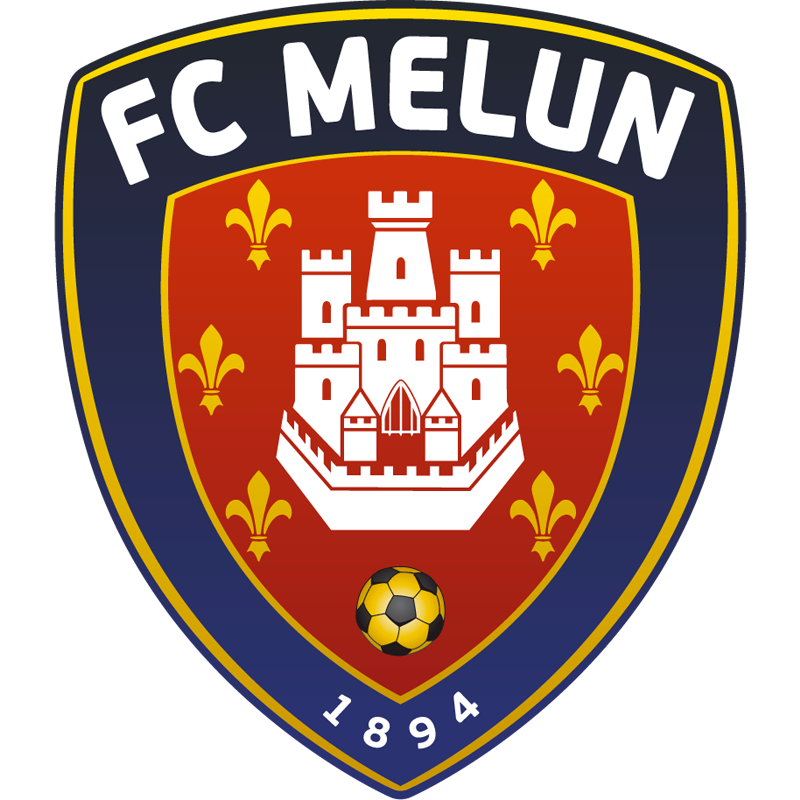 Logo Football Club de Melun