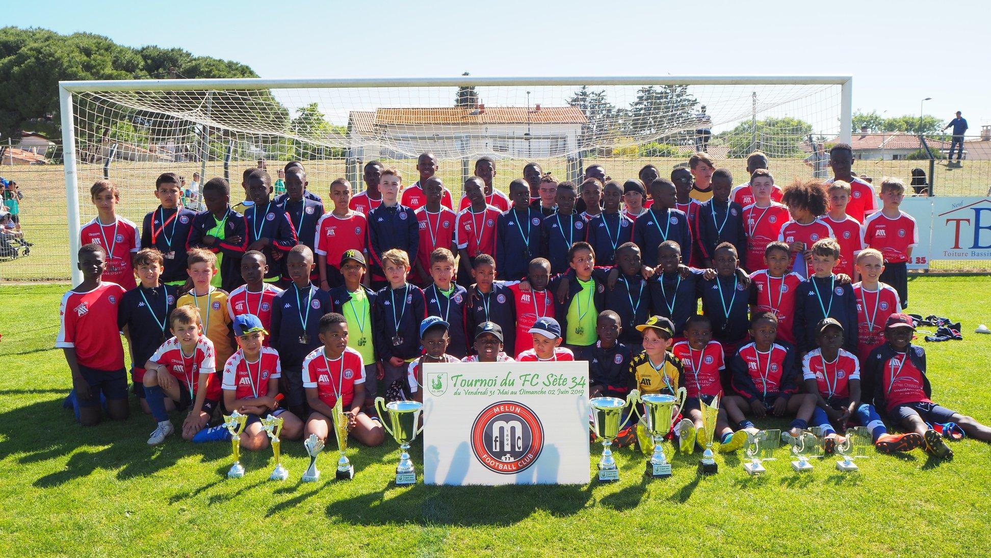 Tournoi du FC Sète dans l'Hérault du 31 Mai au 02 Juin