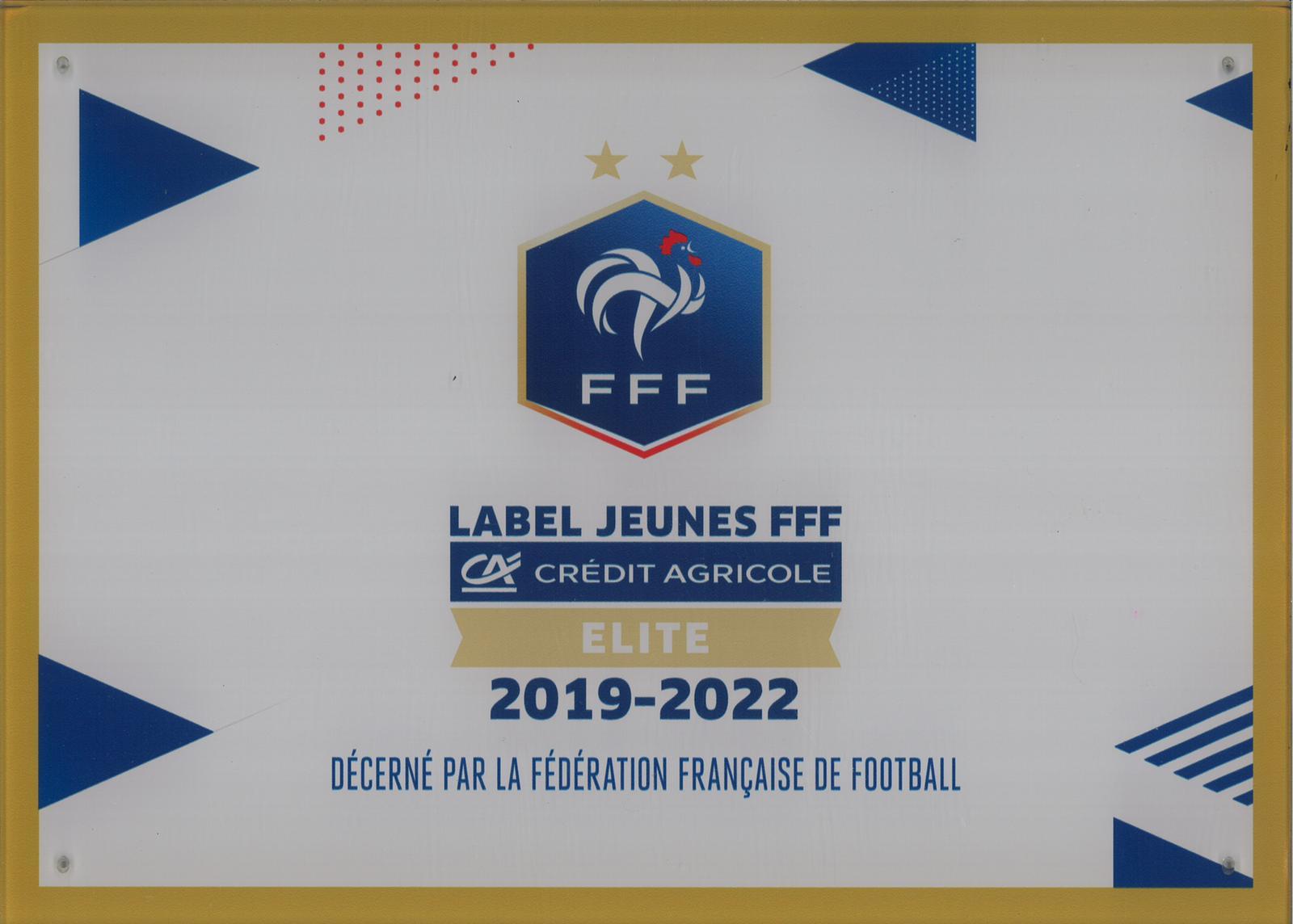 ⚽️ La FFF récompense le FC Melun en lui décernant son Label Jeunes Elite ⚽️
