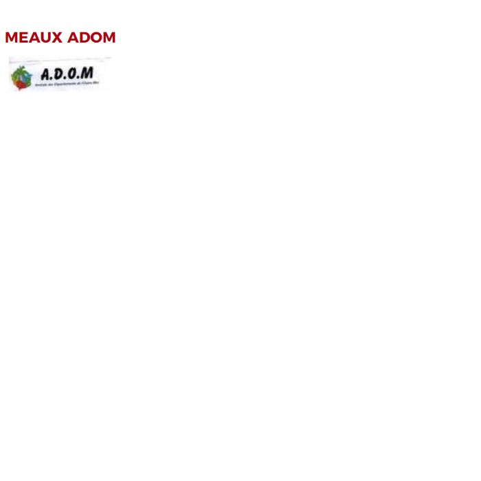 logo Meaux ADOM
